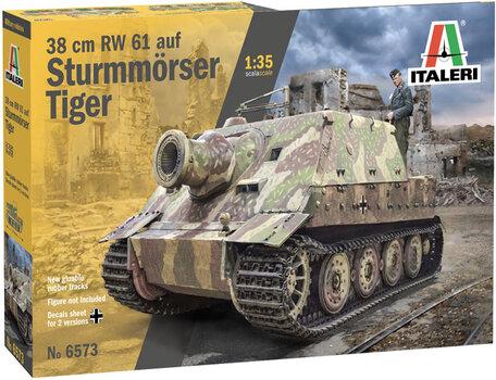 Italeri 38 cm RW 61 auf Sturmmorser Tiger 1:35