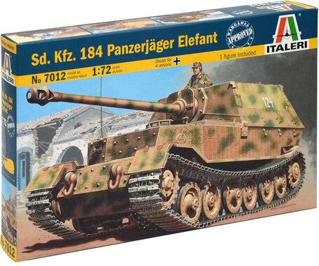 Italeri Sd.Kfz.184 Panzerjager Elefant 1:72