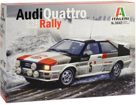 Italeri Audi Quattro Rally 1:24