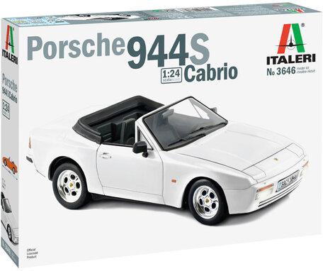 Italeri Porsche 944 S Cabrio 1:24