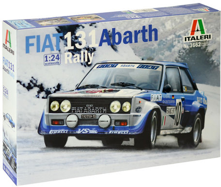 Italeri Fiat 131 Abarth Rally 1:24