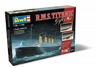 Revell R.M.S. Titanic Gift Set 1:700 / 1:1200