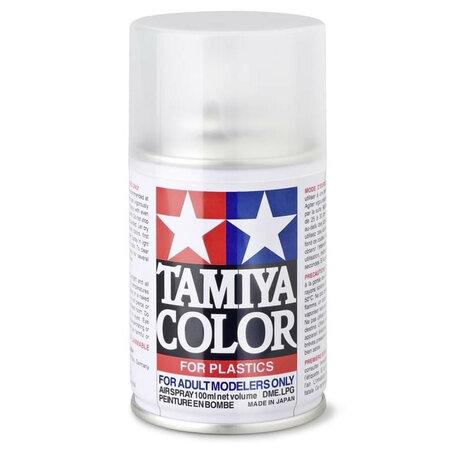Tamiya TS-80: Clear Flat Mat Vernis