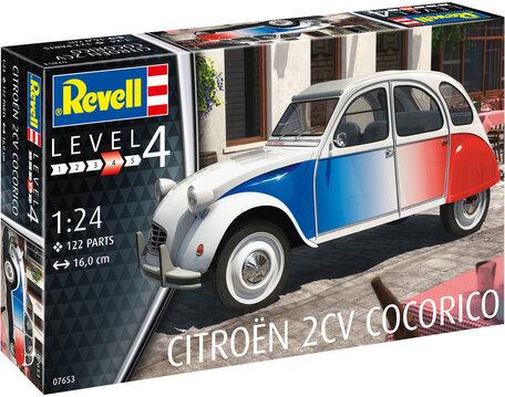 Revell Citroen 2 CV Cocorico 1:24