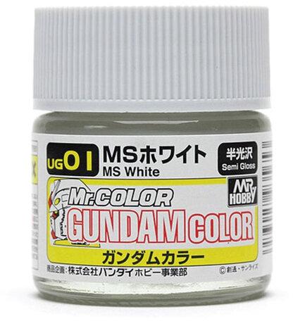Mr.Hobby Gundam Color MS White 10 ml