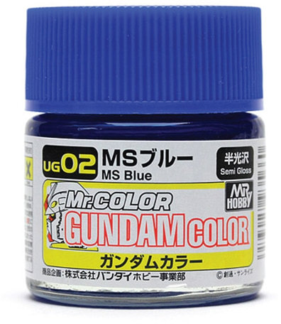 Mr.Hobby Gundam Color MS Blue 10 ml