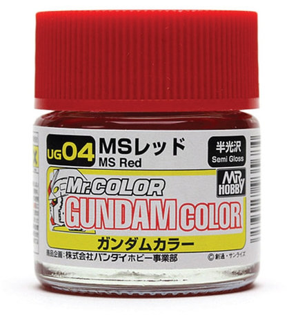 Mr.Hobby Gundam Color MS Red 10 ml