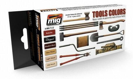 AMMO Paint Set: Tool Colors