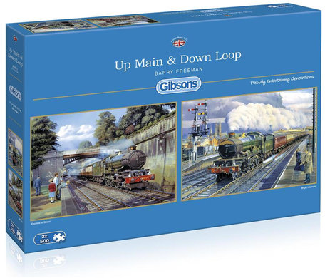 Gibsons Up Main & Down Loop (2 x 500)