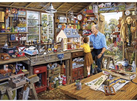 Gibsons Granddad's Workshop (1000)