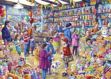 Gibsons The Old Sweet Shop (1000)