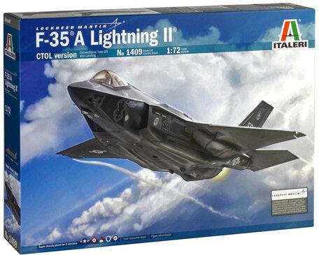 Italeri F-35 A Lightning II CTOL Version 1:72