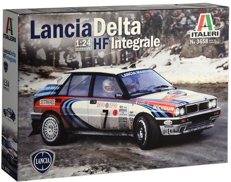 Italeri Lancia Delta HF Integrale 1:24