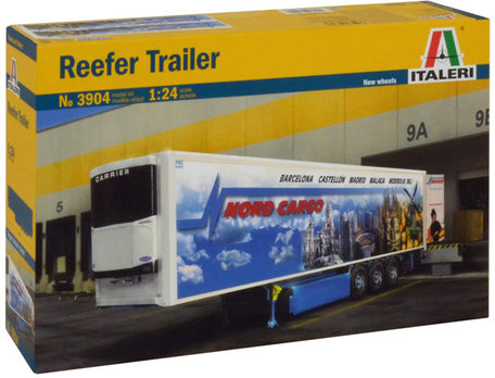 Italeri Reefer Trailer 1:24