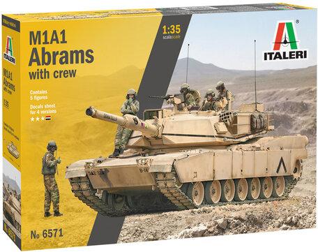 Italeri M1A2 Abrams with Crew 1:35