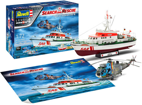 Revell Search & Rescue Set 1:72