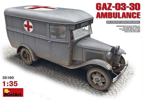 MiniArt GAZ-03-30 Ambulance 1:35