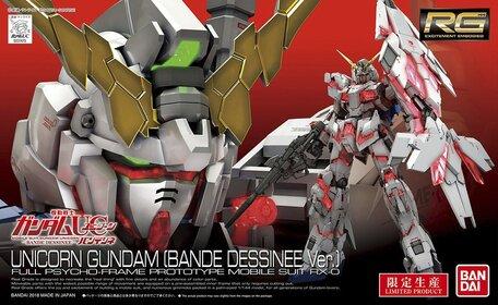 RG 1/144: RX-0 Unicorn Gundam Bande Dessinee