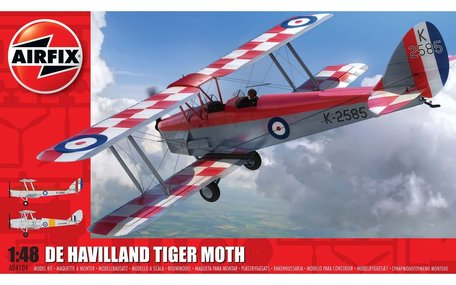 Airfix de Havilland D.H.82a Tiger Moth 1:48