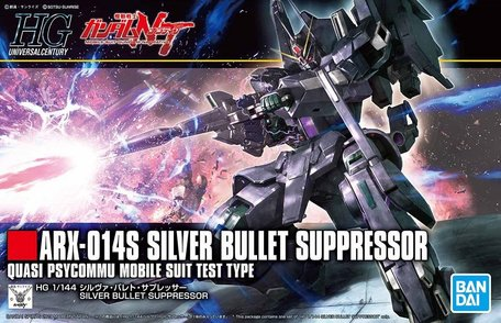 HG 1/144: ARX-014S Silver Bullet Suppressor
