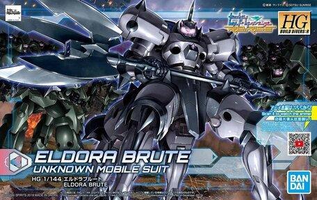 HG 1/144: JDG-009X-ELB Eldora Brute