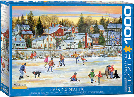Eurographics Puzzles Evening Skating