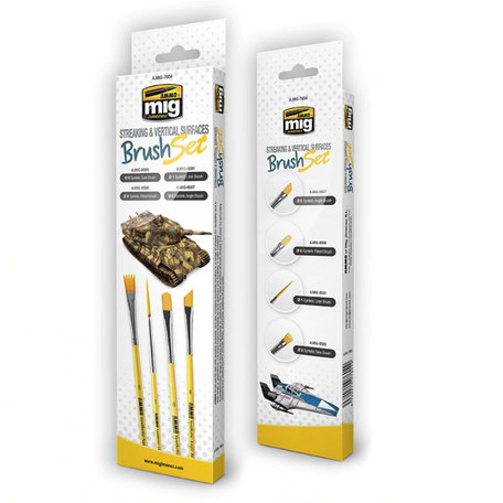 AMMO Streaking And Vertical Surfaces Brush Set