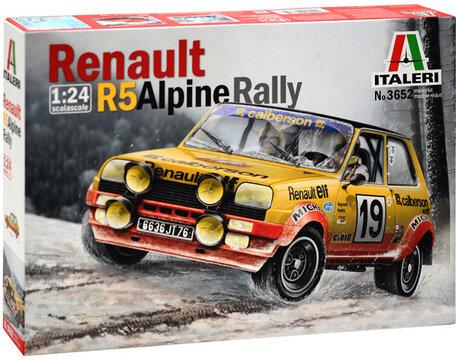 Italeri Renault R5 Alpine Rally 1:24