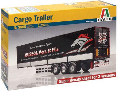 Italeri Cargo Trailer 1:24