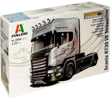 Italeri Scania R730 V8 Streamline 1:24