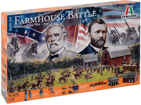 Italeri Farmhouse Battle - American Civil War 1864 1:72