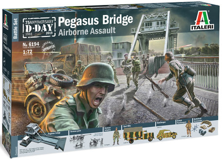 Italeri Pegasus Bridge 1:72