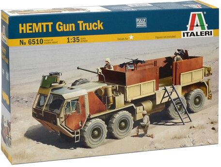 Italeri HEMTT Gun Truck 1:35