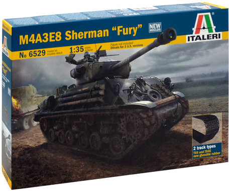 Italeri M4A3E8 Sherman Fury 1:35