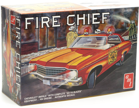 AMT Chevy Impala Fire Chief 1:25