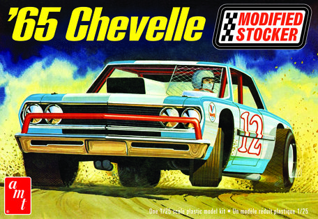 AMT Chevelle Modified Stocker 1965 1:25