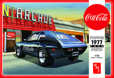 AMT Popper Ford Pinto 1977 Coca Cola 1:25