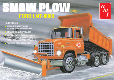 AMT Snow Plow Ford LNT-8000 1:25