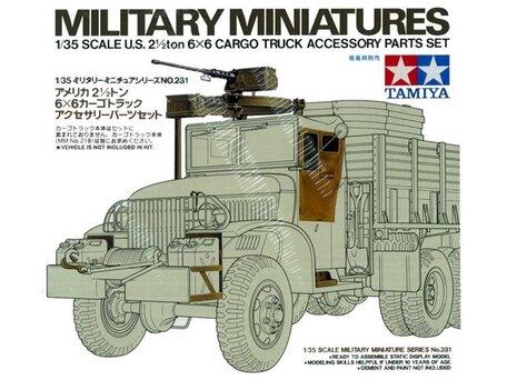 Tamiya 6x6 Cargo Truck Accessory Parts Set 1:35