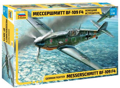 Zvezda Messerschmitt BF-109F4 1:48