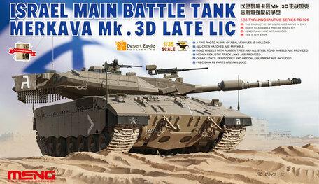 Meng IDF Merkava Mk.3D Late LIC 1:35
