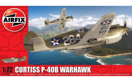 Airfix Curtiss P-40B Warhawk 1:72