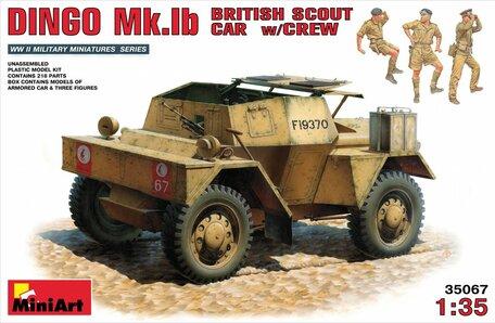 MiniArt Dingo Mk.1b British Scout Car with Crew 1:35