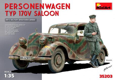 MiniArt Personenwagen Typ 170v Saloon 1:35