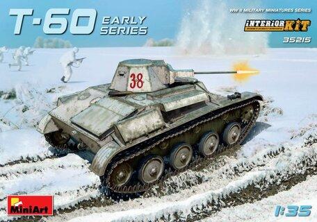 MiniArt T-60 Early Series Soviet Light Tank Interior Kit 1:35