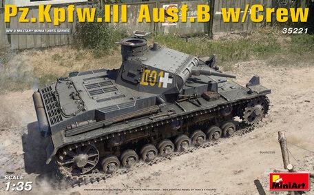MiniArt Pz.Kpfw.III Ausf.B w/Crew 1:35