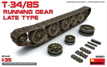 MiniArt T-34/85 Running Gear Late Type 1:35