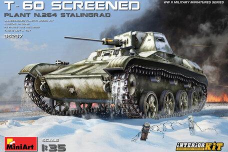 MiniArt T-60 Screened (Plant No.264 Stalingrad) Interior Kit 1:35