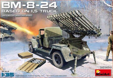 MiniArt BM-8-24 Based On 1,5t Truck 1:35