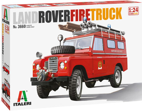 Italeri Land Rover Fire Truck 1:24